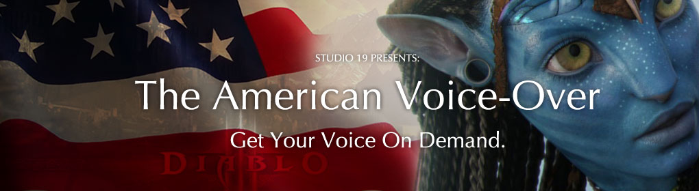 The American Voice-Over - Get your voice on demand